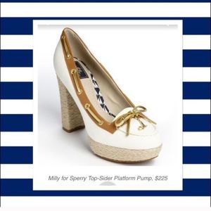 Milly for Sperry Topsider espadrille heels 7